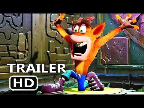 PS4 - Cash Bandicoot Remastered Full Gameplay (2017)