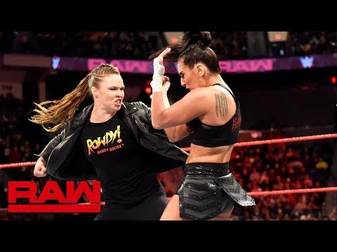 Ronda Rousey helps Natalya fend off Absolution: Raw, April 16, 2018 thumbnail