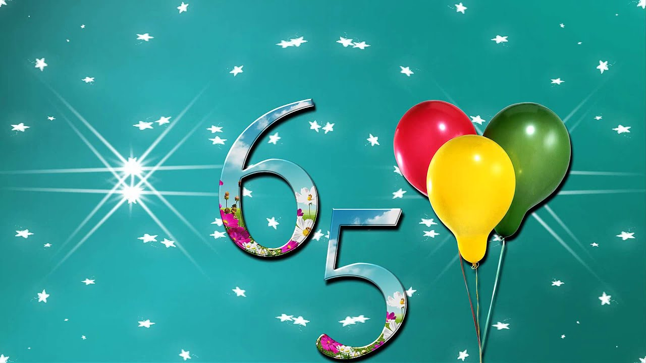 Поздравление с 65-летием женщине