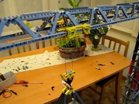Lego Tower Crane Lego Tower Crane Daniel Nieto