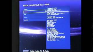 HowTo: Get to service mode/settings of a Samsung Led