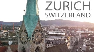 ZURICH SWITZERLAND | Aerial View 4K
