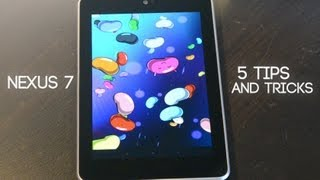 Five Nexus 7 Tips & Tricks