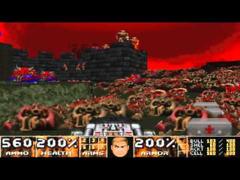 Doom 2 Scythe 2 - Map 30 Haunting Dreams UV-Max