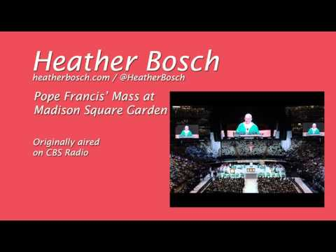 Pope Francis Mass at Madison Square Garden