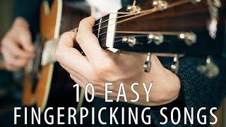 Download Lagu Top 10 Easy Finger Picking Songs Gratis STAFABAND