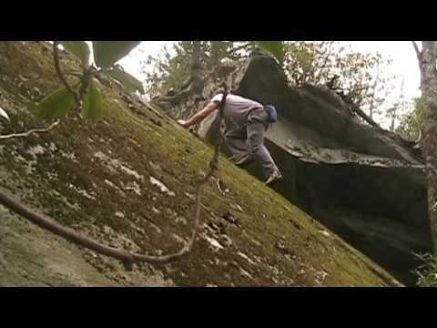 Pisgah National Forest Bouldering