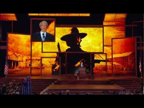Clint Eastwoods Rnc Speech 2012 With Song From Gran Torino! Funny Or Sad If You Are Republican