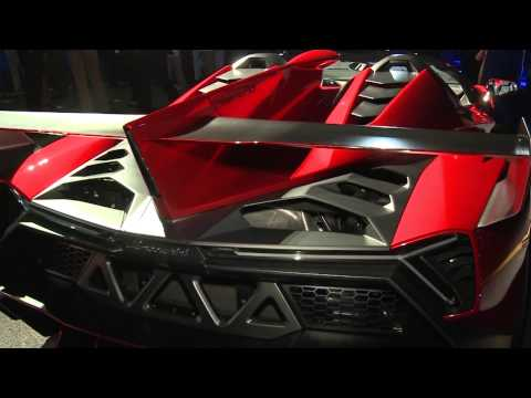 Lamborghini Veneno Roadster in Abu Dhabi