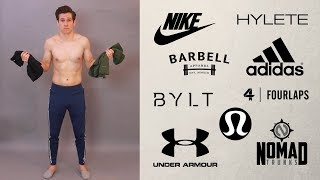 HUGE TRY ON WORKOUT HAUL // Men's Gym Pants and Shorts // Nike, Adidas, Under Armour + MORE