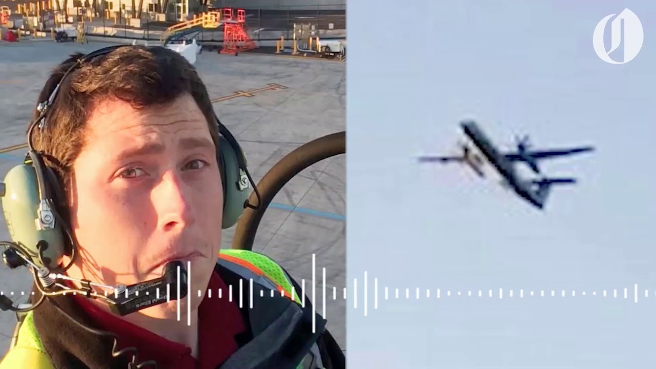 Traffic control audio from hijacked Horizon Air plane