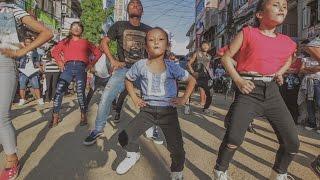 [Gaatho, Paani Paryo, Siraimaa Sirbandi]  Flash Mob by Step Up Dhading