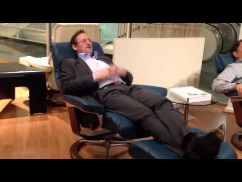 A. Ekornes introduces Stressless View with BalanceAdapt