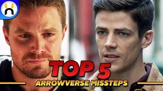 Top 5 Biggest Mistakes in the Arrowverse So Far