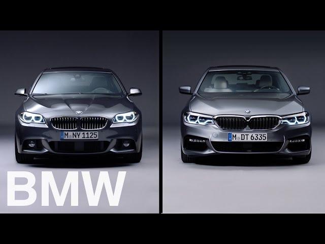 BMW vs BMW. The BMW 5 Series. 6th vs 7th generation. - YouTube