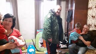 Благотворительный фонд памяти Ф.А.Щербины. Привезли подарки детям Зайцево-ДНР от Татьяны из Крыма.