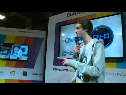 Ali-A interview at The Gadget Show Live 2013 pt1