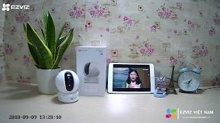 Test Hình Ảnh & Âm Thanh Camera Ezviz C6C CS-CV246 (Ez360 1080p)