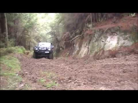 Nissan Safari Hill Climb towing Suzuki