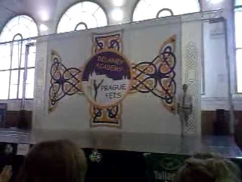 John Carey dancing on Prague Feis 2012
