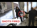 Armed Bank Robbery Stopped by a 62 yrs old Guard Video