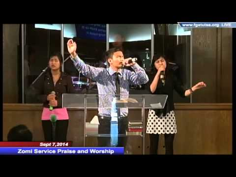 Sept 7,2014 Zomi Service Praise and Worship