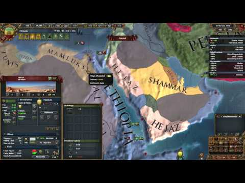 Ethiopia (Ironman) EU4 Common Sense Ep17 - War in The Arabian Peninsula
