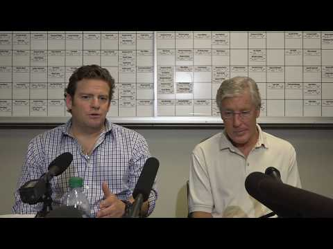 Seahawks General Manager John Schneider & Head Coach Pete Carroll Draft Day 3 Press Conference