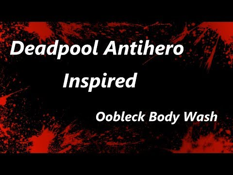 Deadpool Inspired Natural Soap Body Wash Oobleck | Vacuum Sealing Soap | Jentle Soaps™ MP3