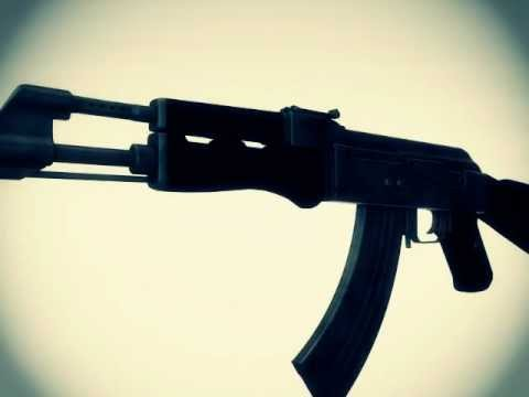 Cinema 4D/ AK-47 animation