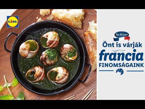 Francia ízek hete 09.23-tól | Lidl