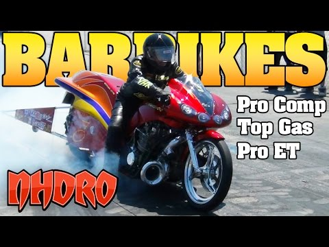 NHDRO 4: Turbo Dragbikes Bar Bikes motorcycle drag racing videos Indy 2012