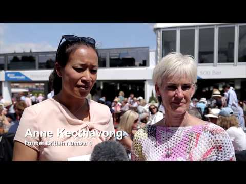 Judy Murray & Anne Keothavong rally behind Royal Marsden and Elena Baltacha Foundation