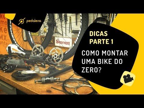 Pedaleria - Como montar uma bike do zero peça a peça  1