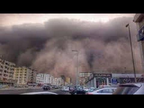 Berita 15 September 2015 - VIDEO Amatir Mengerikannya Badai Pasir di Arab saudi