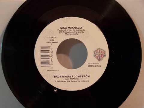 Mac Macanally - Back Where I Come From