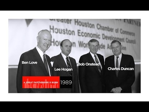 Greater Houston Partnership (GHP) 25th Anniversary | 25 Years Working for Houston
