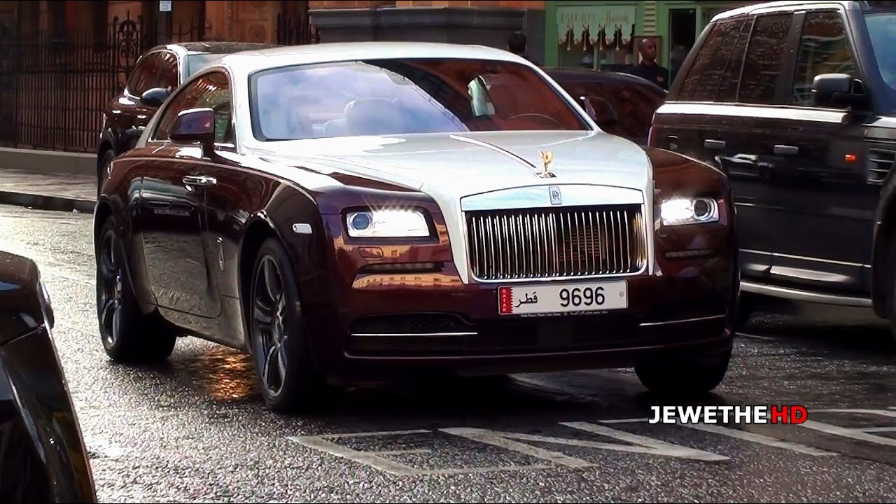 2014 Rolls-Royce Wraith INVASION in London! Which one is ...