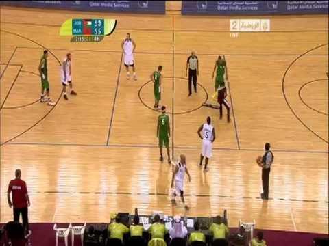 Jordan - Morocco (Arab GAMES / Doha 2011, Game 1)