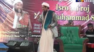 Peringatan Isra'Mi'raj bersama KH. Abdul Munthalib (kera sakti) part 2