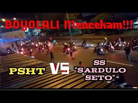 Bentrok PSHT VS SS (Sardulo Seto) Di Boyolali #Part I