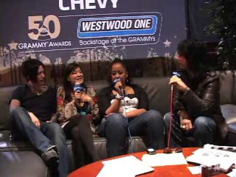 Nikki Sixx-( Sixx AM)Westwood One: Backstage at the 2008 Grammys