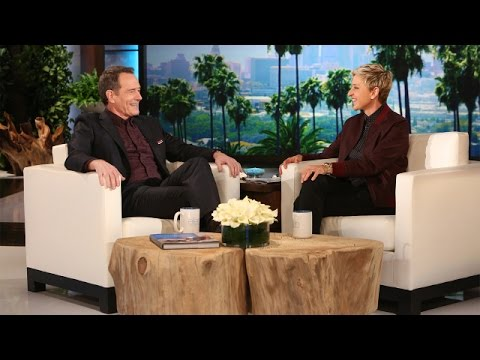 Bryan Cranston's Treat for Ellen