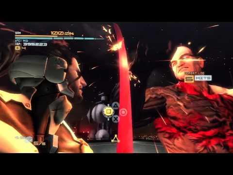 Metal Gear Rising: Sam DLC Armstrong Boss Fight HD