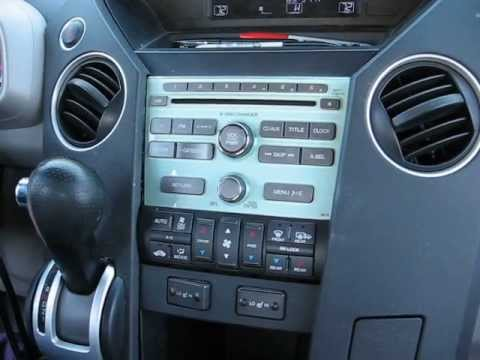How to Remove Radio / CD Changer from Honda Pilot 2009 for Repair.
