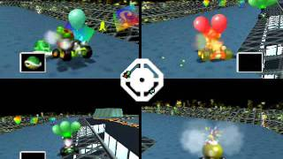 Mario Kart 64 Netplay Battle: Skyscraper