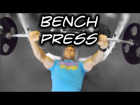 How to Perform Bench Press - Tutorial & Proper Form