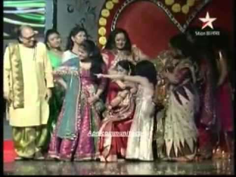 Star Jalsha Poribar Awards 2013 Sourav Alo Biye video