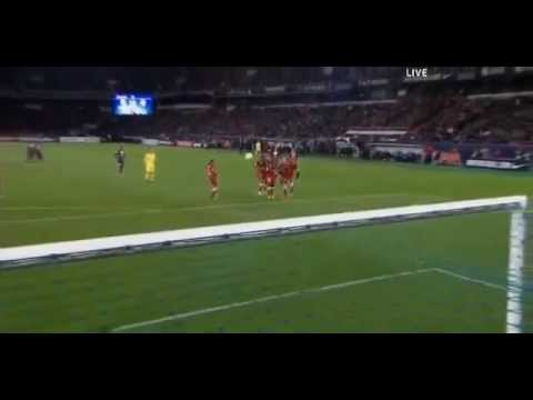 Ibrahimovic Amazing Free Kick Goal PSG 3 0 Brest 18/05/2013