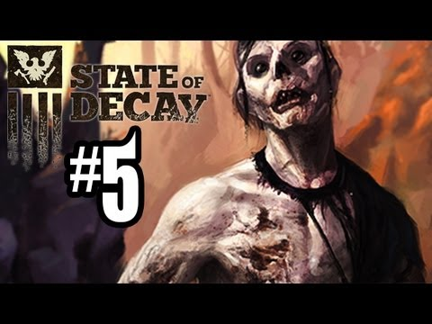 State of Decay Gameplay Walkthrough - Part 5 - SAVING JACOB!! (Xbox 360 Gameplay HD)